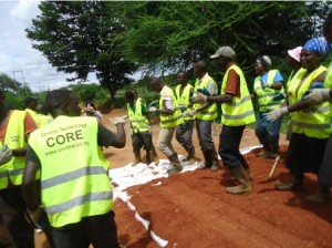 Itaava youth group, Makueni County roadworks using Do-nou technology